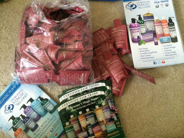 Donations from Dr. Bronner's