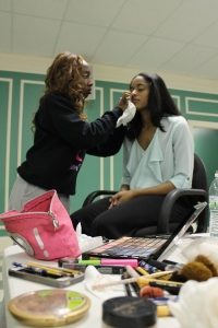 Founder, Jessica Tee, put on her makeup artist hat and painted faces for the bachelorette shoot.