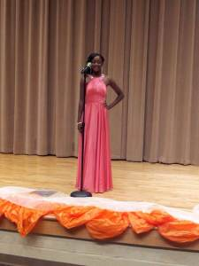 PABPG High School Ambassador, Shantavia Edmonds