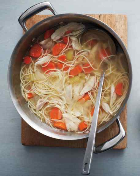 http://www.marthastewart.com/1085620/one-pot-classic-chicken-noodle-soup